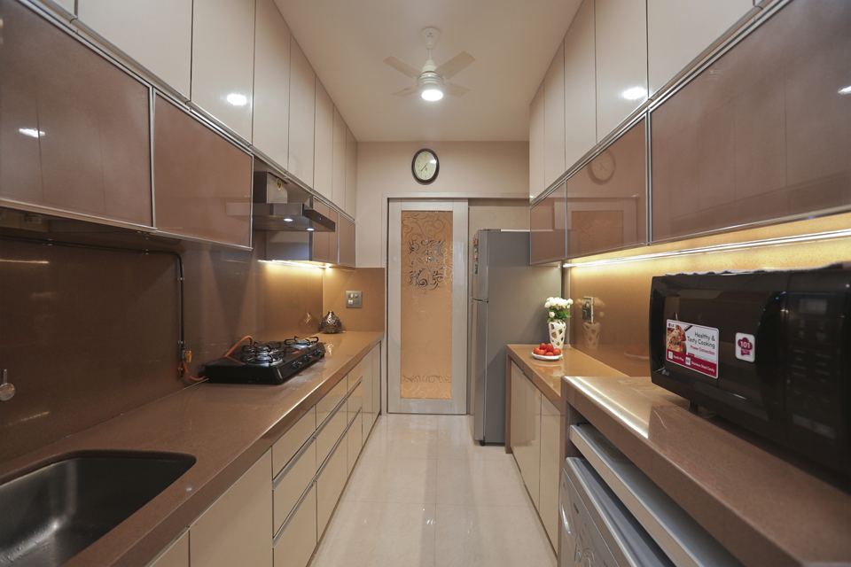 beige-modular-kitchen-dahisar